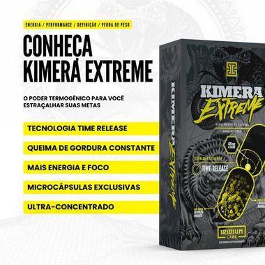Kimera Extreme 60 Tabletes Iridium Labs  - Vitta Gold
