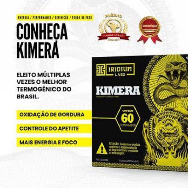 Kimera Thermo 60 Comprimidos Iridium Labs  - Vitta Gold