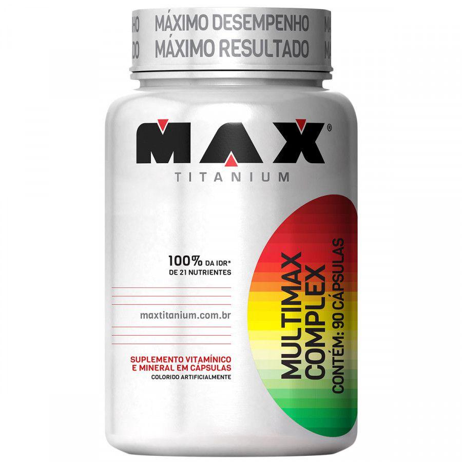 Kit 3x Multimax Complex - 90 Cápsulas Cada - Max Titanium