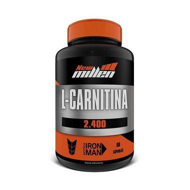 L-Carnitina 2.400 90 Cápsulas New Millen