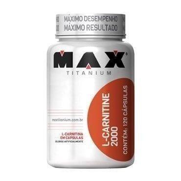 L-Carnitine 2000 60 Cápsulas Max Titanium