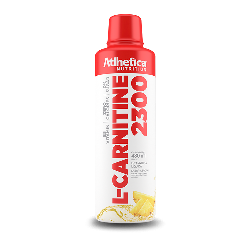 L-Carnitine 2300 480ml Atlhetica Nutrition