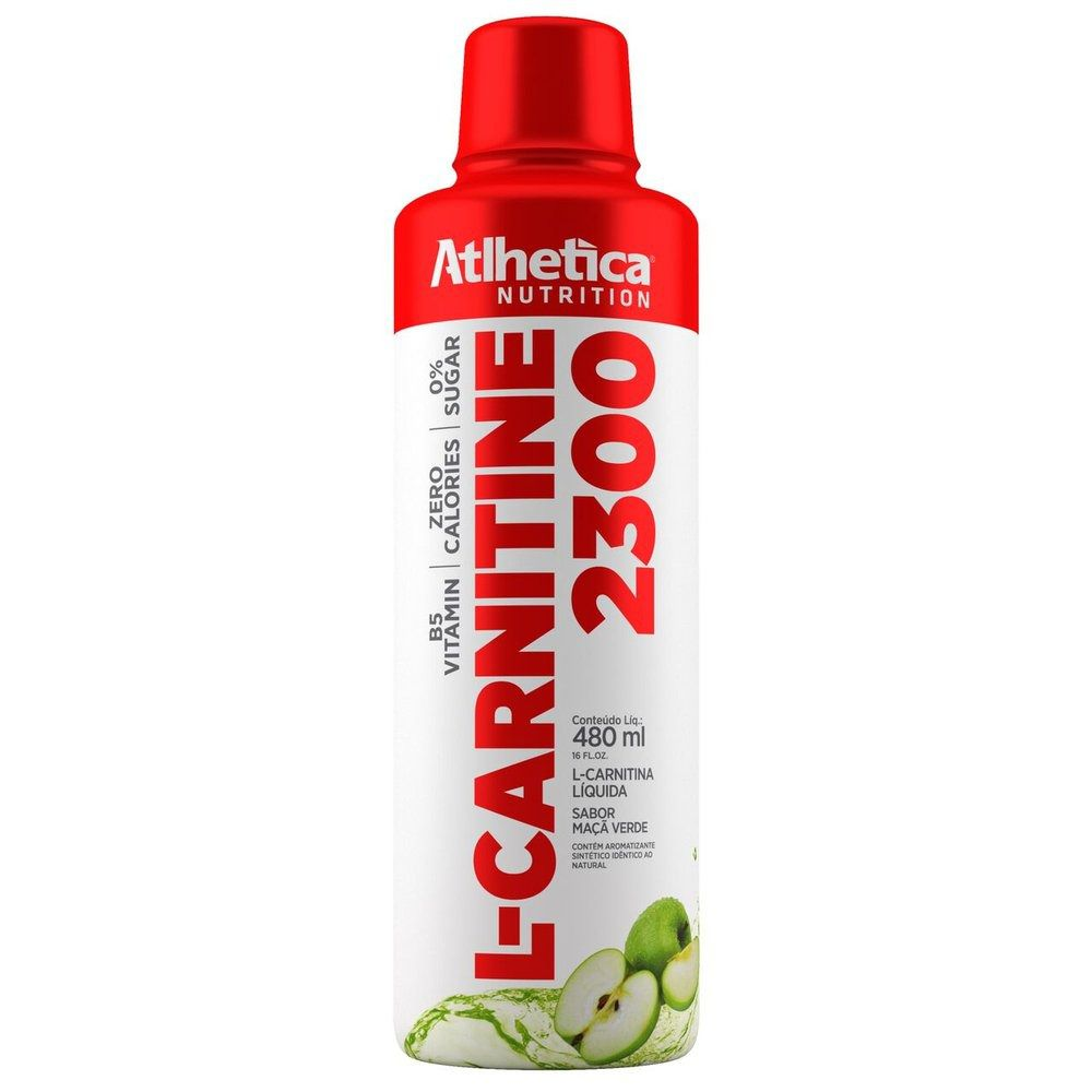 L-Carnitine 2300 960ml Atlhetica Nutrition