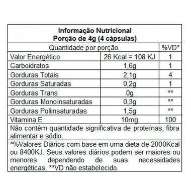 Lipix Óleo de Cártamo 120 Cápsulas Vitafor  - Vitta Gold