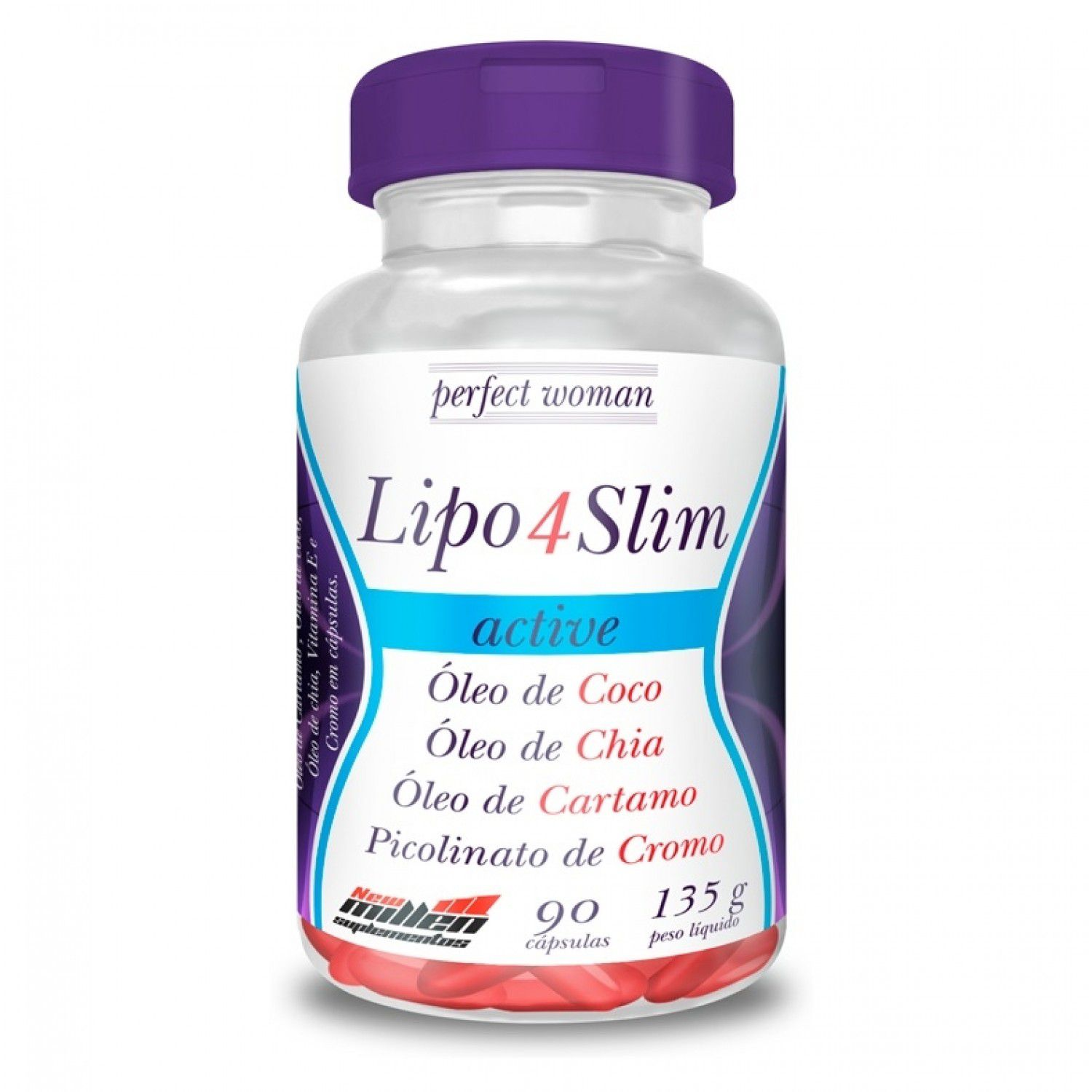 Lipo 4 Slim Active 90 Cápsulas New Millen