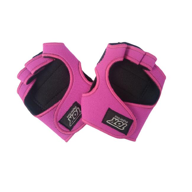 Luva de Neoprene Pink - Tok Esportivo