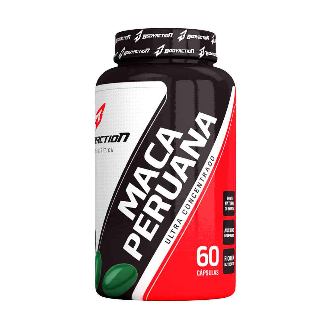 Maca Peruana 60 Cápsulas Body Action