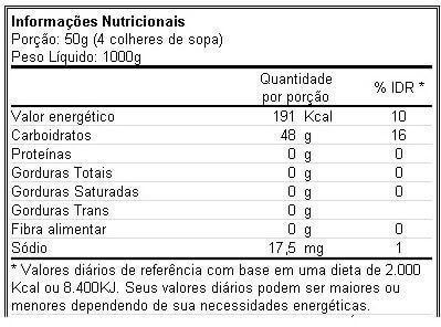 Malto Dextrin 1kg Body Action  - Vitta Gold