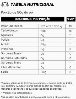 Maltodextrina 1kg New Millen  - Vitta Gold