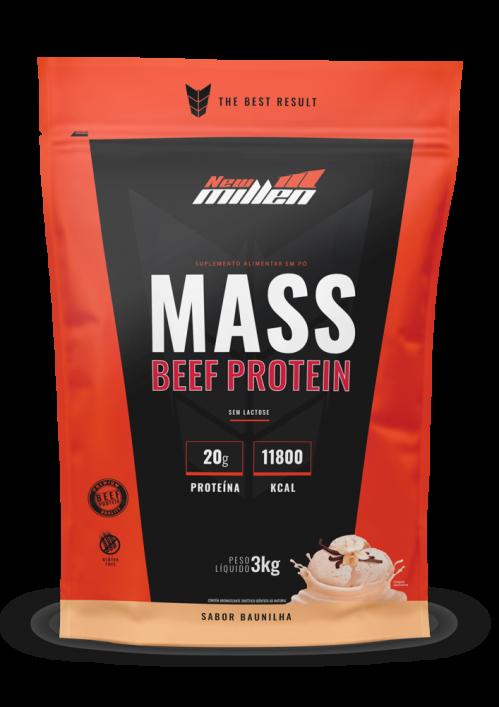 Mass Beef Protein Refil 3kg New Millen