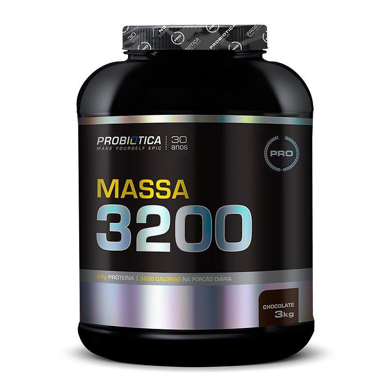 Massa 3200 3kg Probiótica  - Vitta Gold Nutrição Esportiva