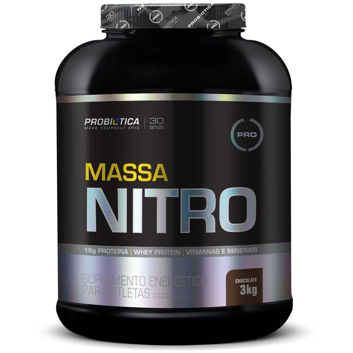Massa Nitro 3kg Probiótica  - Vitta Gold