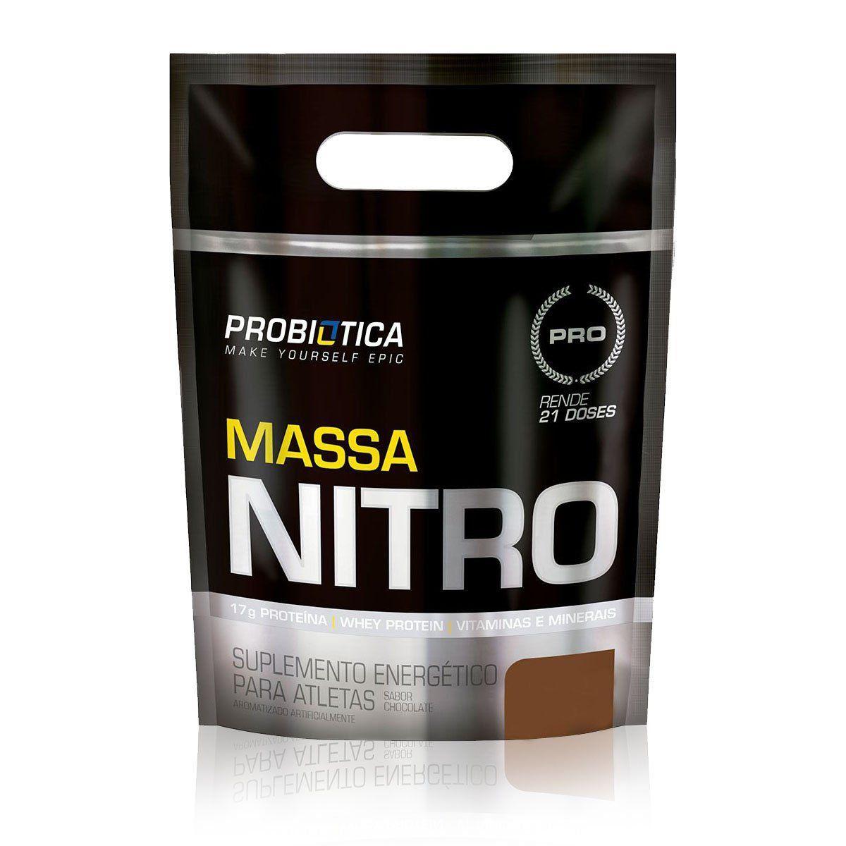 Massa Nitro Refil 2,520kg Probiótica  - Vitta Gold