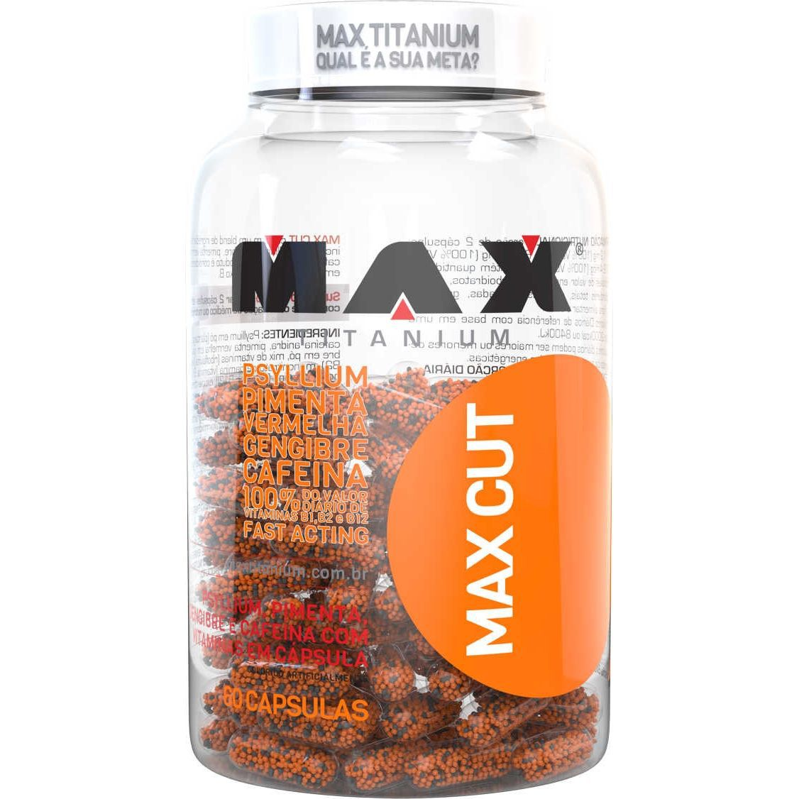Max Cut 60 Cápsulas Max Titanium  - Vitta Gold