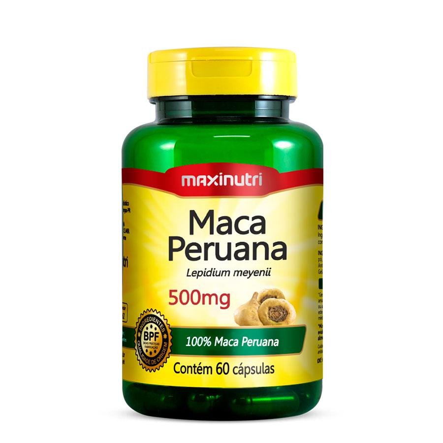 Maxi Maca Peruana 500mg - 60 Caps Maxinutri