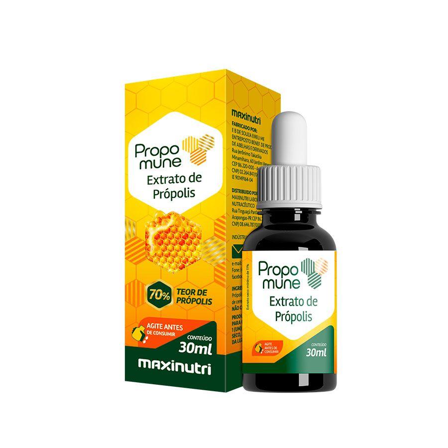Propomune 30ml (Ext. De Prop. Concentrado /70%) - Maxinutri