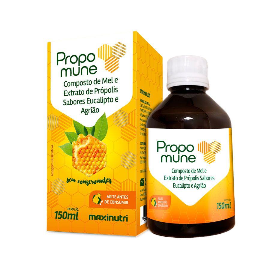 Propomune Xarope 150ml (Mel/Propo./Euca./Agriao) - Maxinutri
