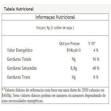 MCT Óleo de Coco Refinado 500ml Vitafor  - Vitta Gold
