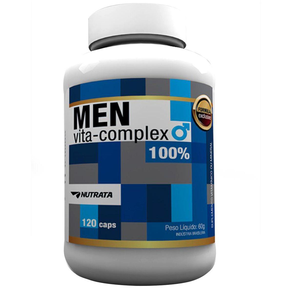 Men Vita Complex 120 Caps Nutrata