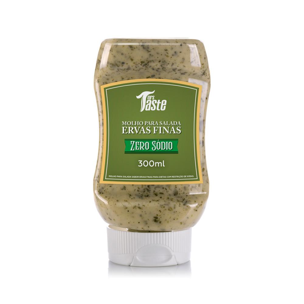 Molho para salada Ervas Finas 300ml Mrs Taste
