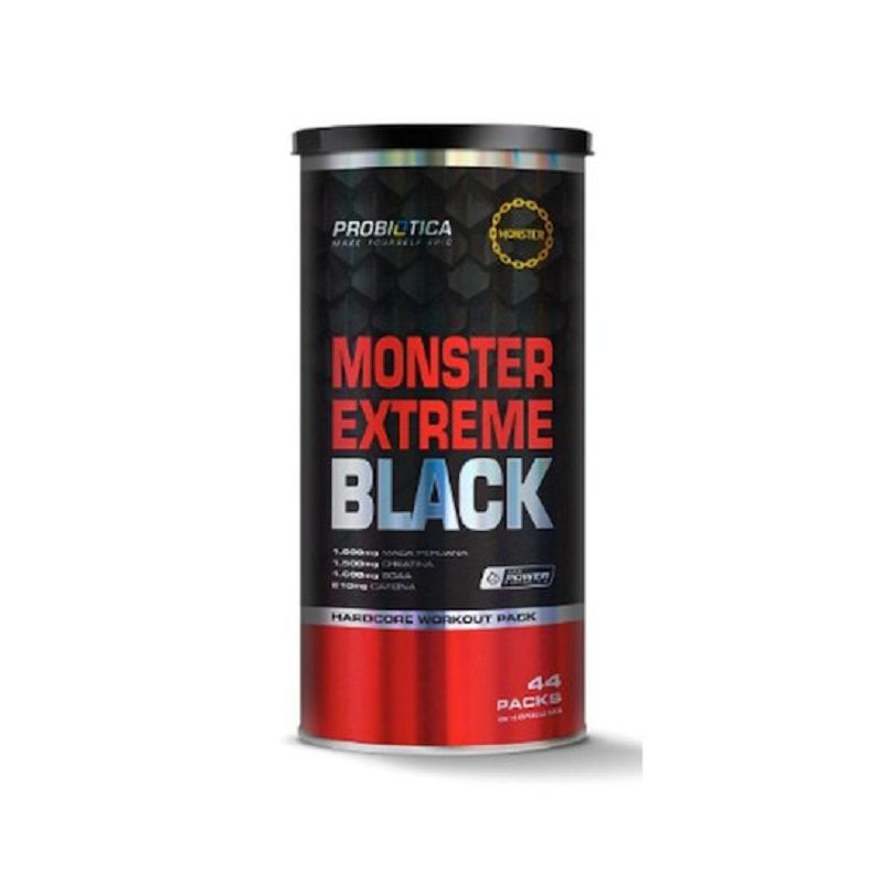 Monster Extreme Black 44 Packs Probiótica  - Vitta Gold