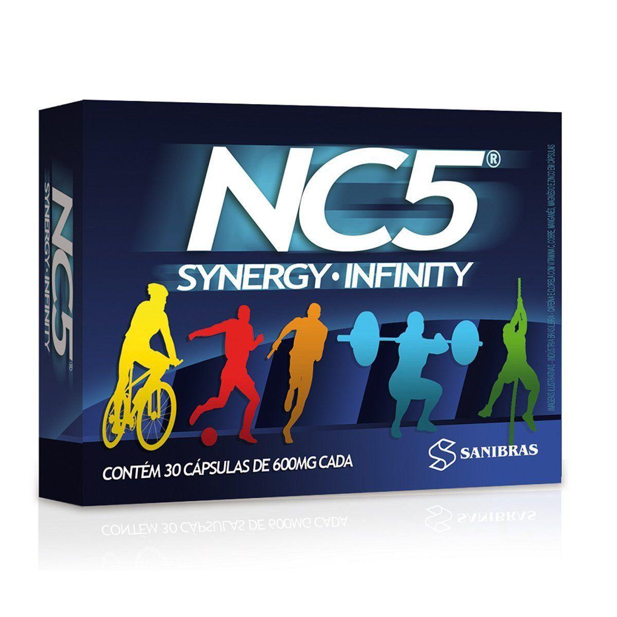 NC5 Synergy Infinity 30 Cápsulas Sanibras  - Vitta Gold