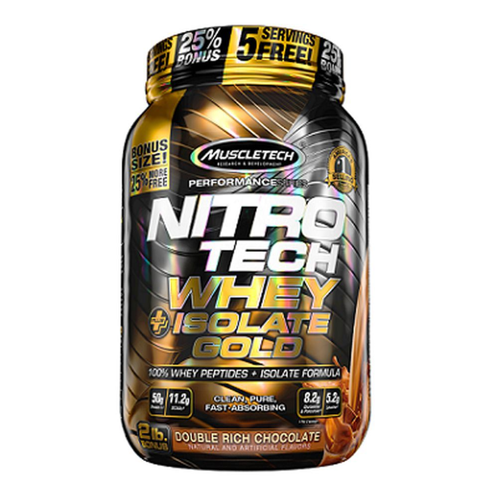 Nitro Tech 100% Whey Gold 2lbs Muscletech