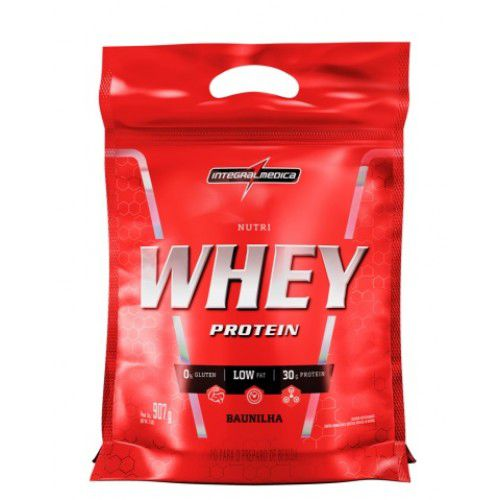 Nutri Whey Protein Refil 907g Integralmédica