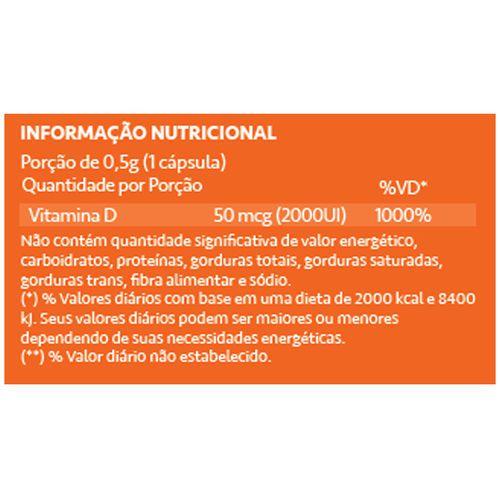 NutriDE Maxx 2000ui 60 Cápsulas Maxinutri  - Vitta Gold