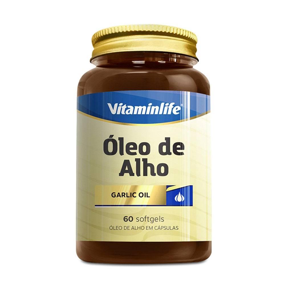 Óleo de Alho 250mg 60 Cápsulas Vitaminlife