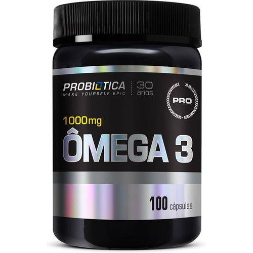 Ômega 3 1000mg 100 Cápsulas Probiótica  - Vitta Gold