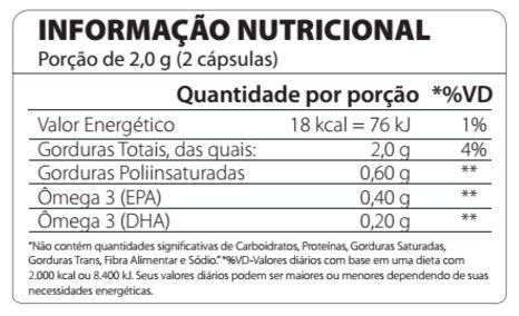 Ômega 3 Fish Oil 120 Cápsulas Atlhetica Nutrition
