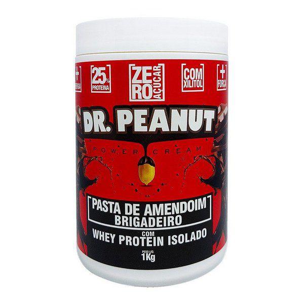 Pasta de Amendoim Brigadeiro com Whey 1kg Dr. Peanut