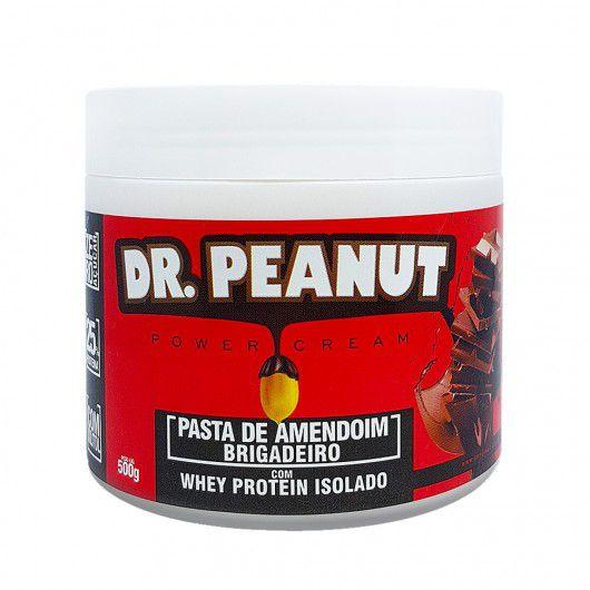 Pasta de Amendoim Brigadeiro com Whey 500g Dr. Peanut