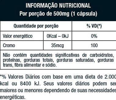 Picolinato de Cromo 120 Cápsulas Nutrata  - Vitta Gold