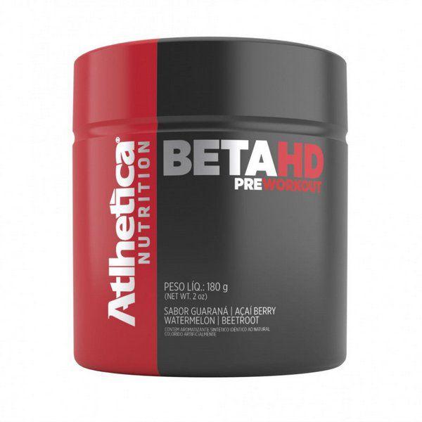 Pré Treino Beta HD 180g Atlhetica Nutrition