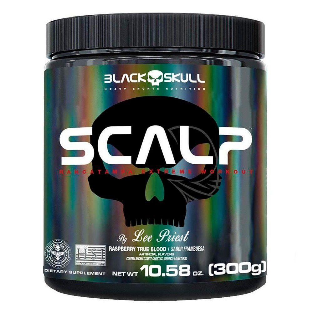 Pré Treino Scalp 300g Black Skull