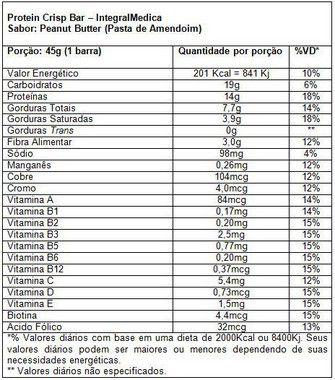 Protein Crisp 45g Integralmédica  - Vitta Gold