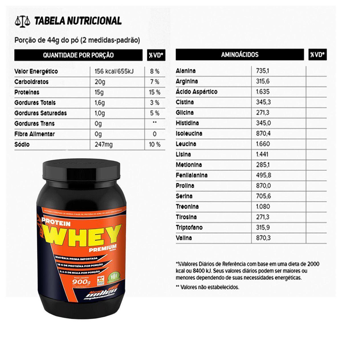Protein Whey Premium 900g New Millen  - Vitta Gold