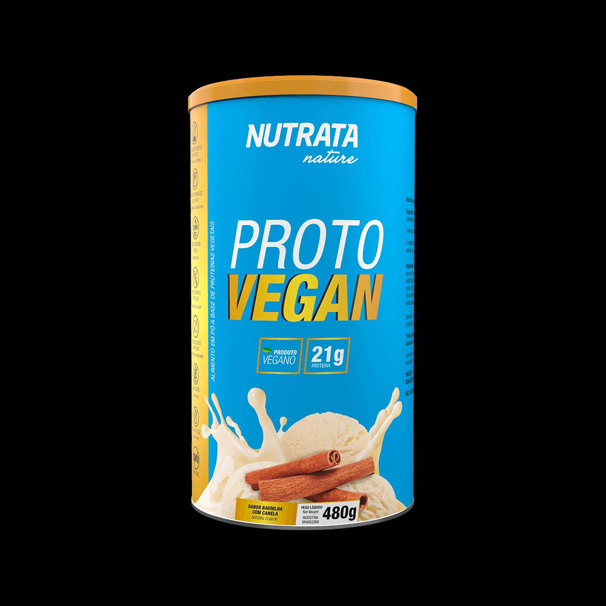 Proto Vegan 480g Nutrata  - Vitta Gold