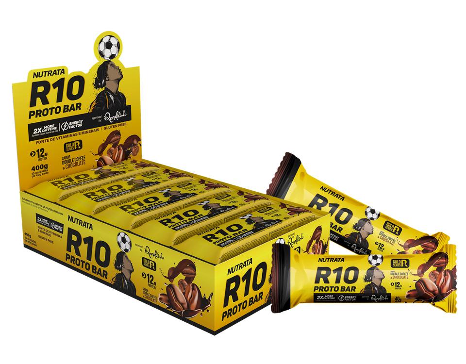 Protobar R10 Nutrata - Barra Proteina Ronaldinho