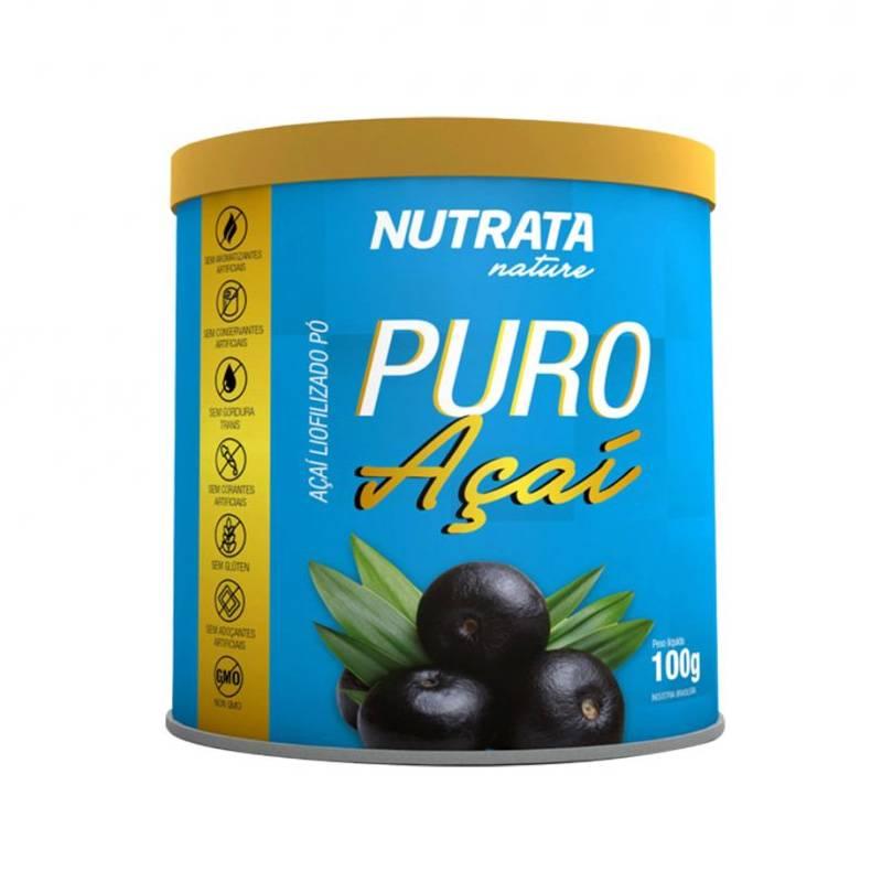 Puro Açaí 100g Nutrata