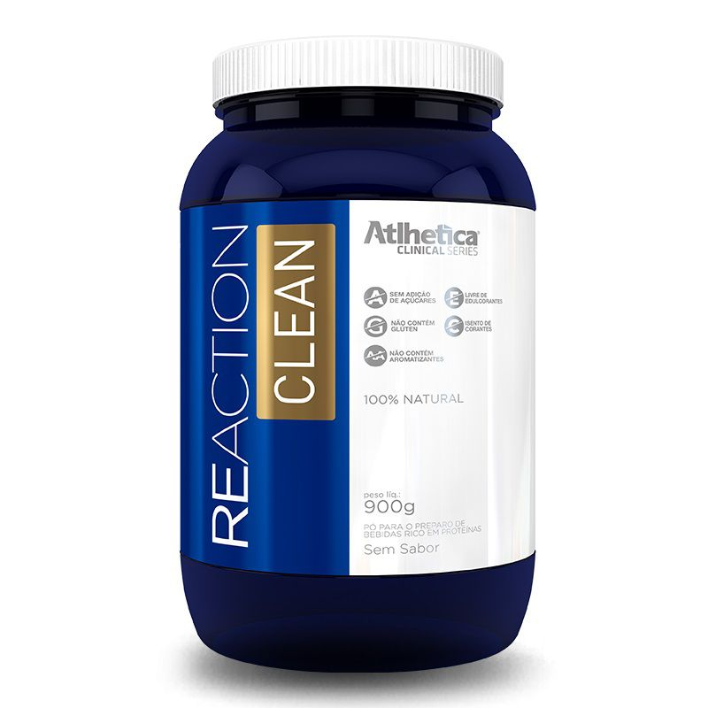 Reaction Clean 900g Atlhetica Nutrition  - Vitta Gold