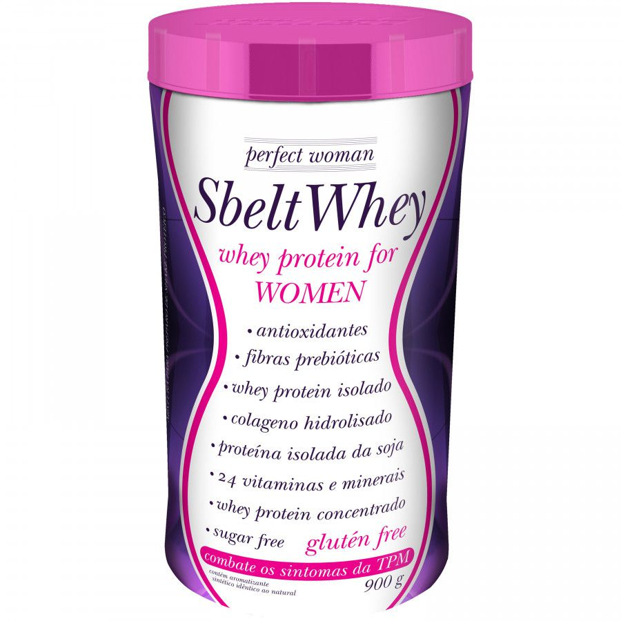 Sbelt Whey Woman 900g New Millen