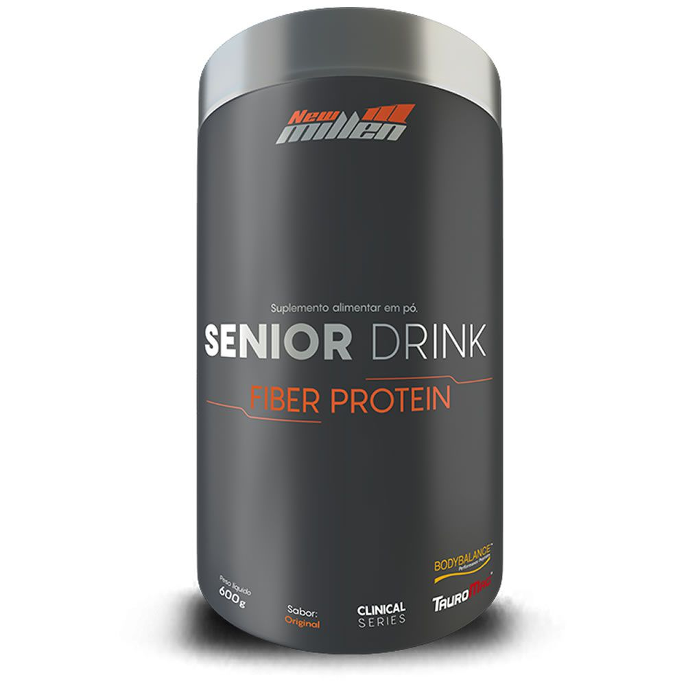 Senior Drink Fiber Protein 600g New Millen
