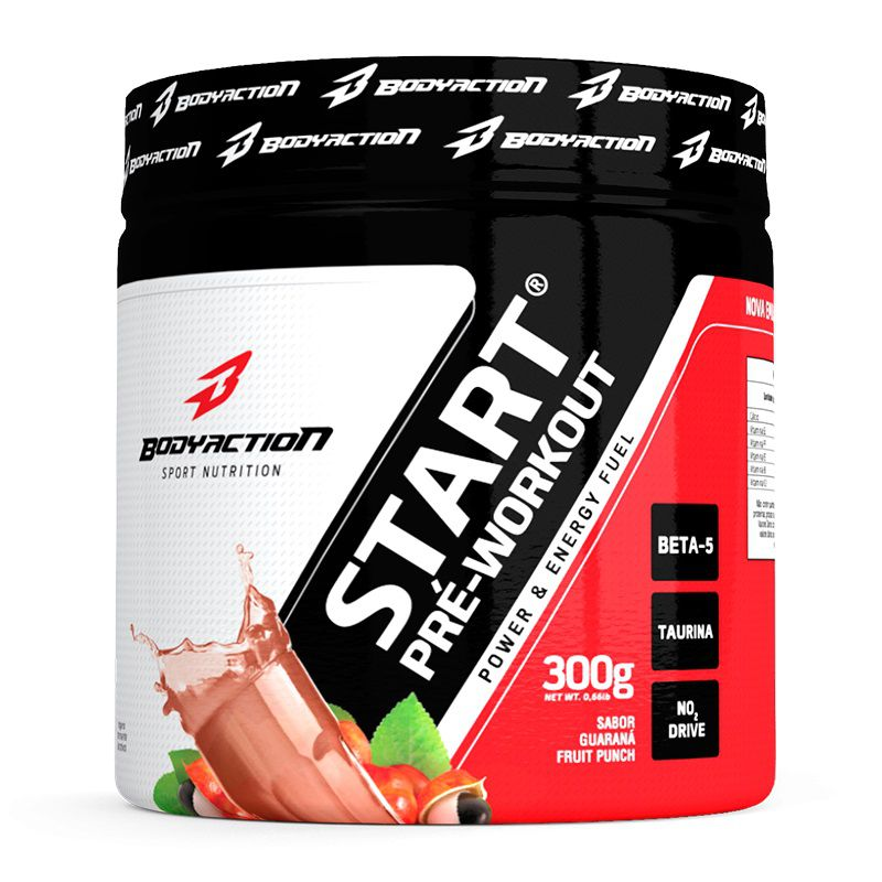 Start Pré Workout 300g Body Action