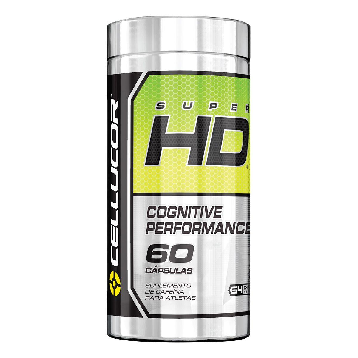 Super HD 60 Cápsulas Cellucor