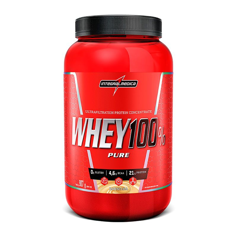 Super Whey 100% Pure 907g Integralmédica