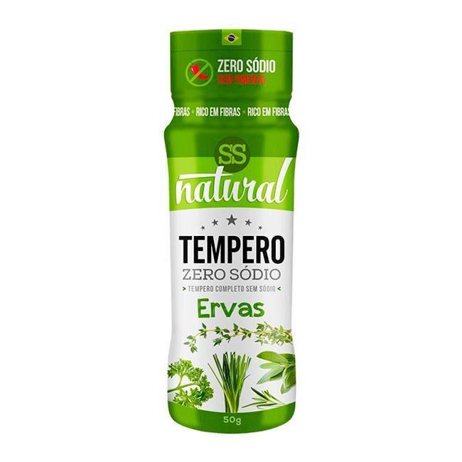 Tempero Zero Sódio Sabor Ervas 40g SS Natural