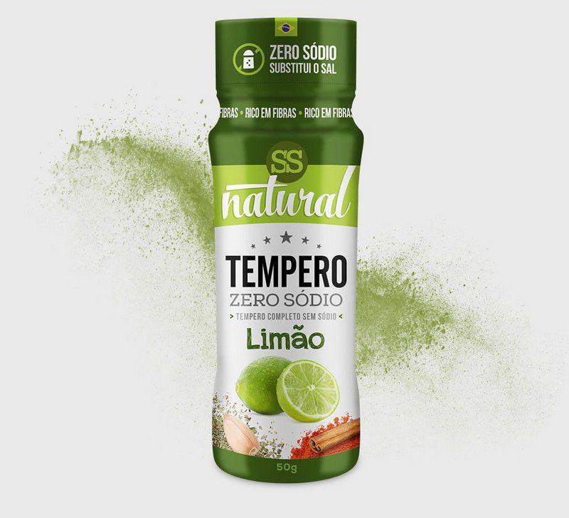 Tempero Zero Sódio Sabor Limão 50g SS Natural
